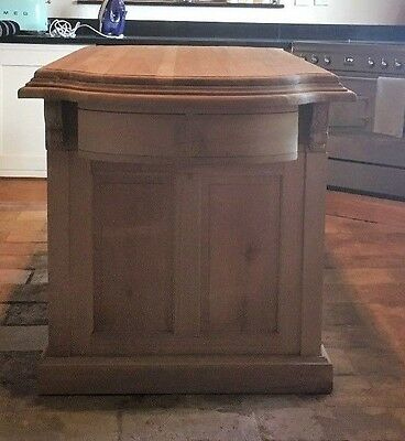 Absolutely Stunning Solid Wood  Hand Crafted Kitchen Island