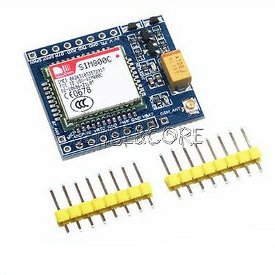 SIM800C GSM GPRS Module 5V/3.3V TTL STM32 C51 with Bluetooth and TTS for Arduino