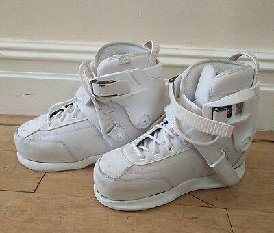 Used USD Men's Carbon Free Plus DIY Aggressive Skates. Size Uk 10 boot only