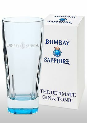 Bombay Sapphire Gin Glass New & Gift Boxed
