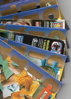 Leicester City 'Home' & 'Away' Programmes from 1994/1995