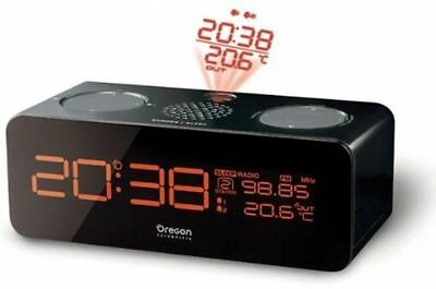 Oregon Scin  RRM320P Projection FM, Radio controlled clock Outdoor Temperature