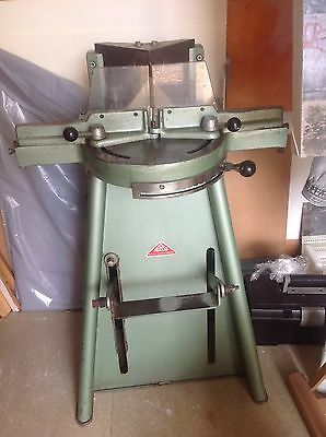 morso guillotine. Picture framing moulding cutting machine.