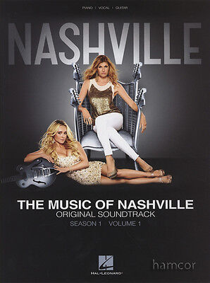 The Music of Nashville Season One Volume 1 Piano Vocal Guitar Sheet Music Book