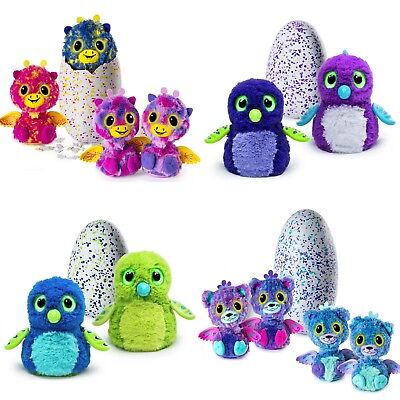 Hatchimals Pengualas Draggle Egg Spinmaster Interactive Toy New Fantastic