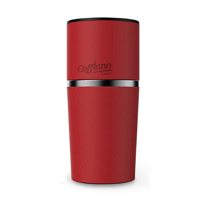 Cafflano RED Classic All In one Coffee Maker Portable Tumber Made IN Korea