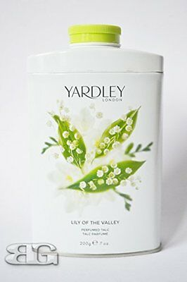 YARDLEY LONDON TALCUM LILY OF THE VALLEY APRIL TALC 200g