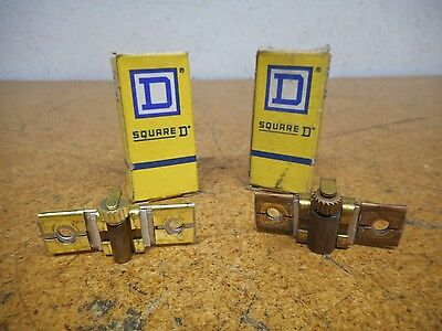 Square D B5.50 Overload Relay Thermal Heater Elements One New & One Used