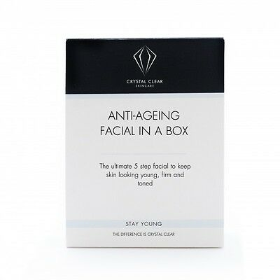 Crystal Clear Skincare Soin Nettoyant Visage Anti-Âge Nettoyant Soin Hydratant