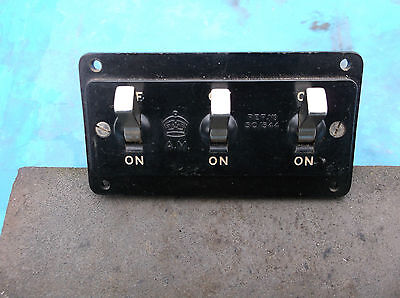 ww2 raf hurricane 5c/544 triple switch verry nice rare