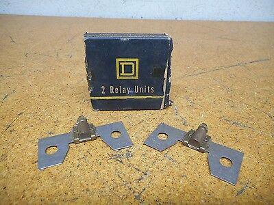 Square D C22 Overload Heater Elements Used With Warranty (Lot of 2)