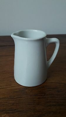 Vintage Grindley England Hercules Vitrified Pottery - Small White Milk/Cream Jug