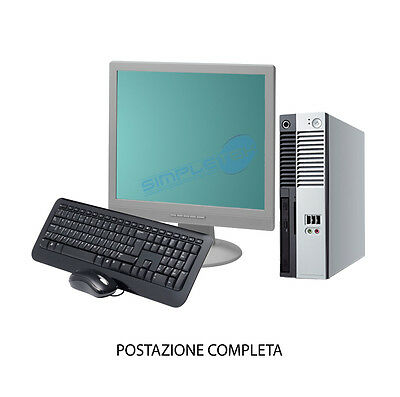 """Workstation Complete Monitor Lcd 15"""" Sale Poker 2Gb Ram Internet Point Win 7"""