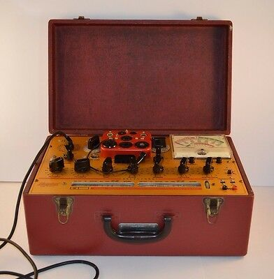 Vintage Hickok Elect. Instrument Co. Tube Tester 6000A Micromho, Selling AS IS