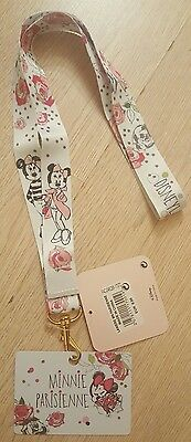 Disneyland Paris LANIERE / LANYARD MINNIE PARISIENNE