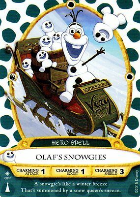 Disney Sorcerers Of The Magic Kingdom Card Olafs Very Merry Christmas Party