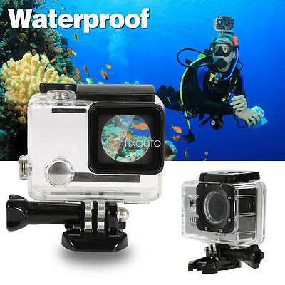 Waterproof Skeleton Housing Protective Camera Case Cover For GoPro Hero 4 3 fo