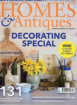 Homes & Antiques Magazine: April 2016: Decorating Special
