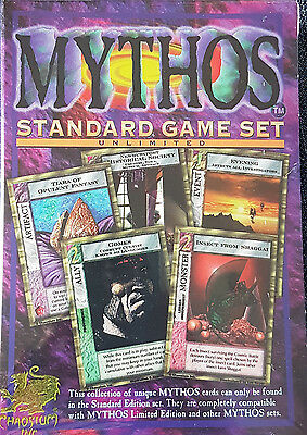 MYTHOS CCG 1 Standard Game Set 2-Player unlim. Chaosium (1996) H.P. Lovecraft
