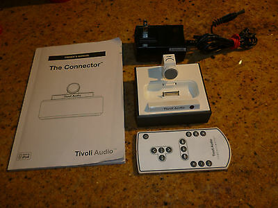 Tivoli Audio The Connector Universal Dock/Charger for iPhone/iPod White