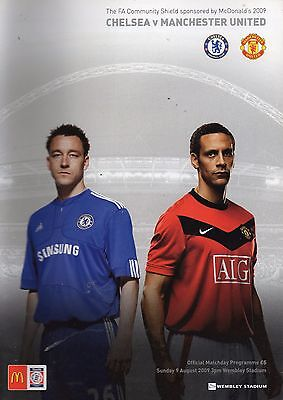 2009 Charity Shield - Chelsea v Manchester United - 09/08/09