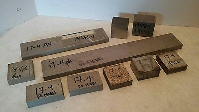 Stainless Steel 17-4 PH H900, qty 10 Raw Machining Metal 17 4 Drops & Raw Stock