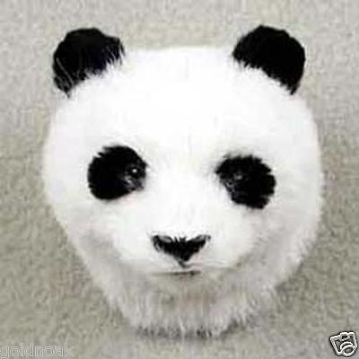 One Cute Panda Bear Furlike Collectable Animal  Magnet. Great As Gifts!