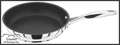 Stellar 7000 S713 20cm Stainless Steel Non-Stick Frying Pan