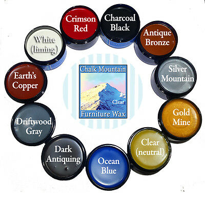 Chalk Furniture Paint Wax All Natural Wax Styling Kit. Buy all 11 colors