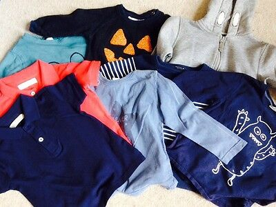 Zara And Next Boys Jumper, Hoody And Tops Clothes Bundle Age 2-3 Years