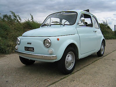 Fiat 500R - Fully Restored, Asi Gold Standard Approved, 500F Round Binnacle
