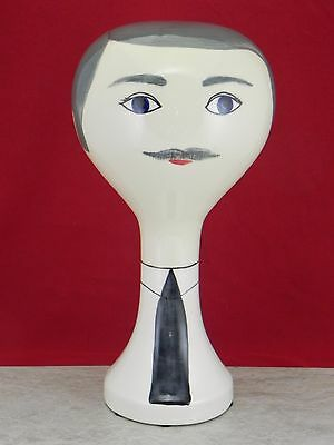 Wig Hat Stand From Original Stangl Mold Special Reduced Price!