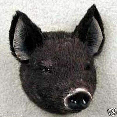 BLACK PIG! Collect Fur Magnets. ANY PROFIT GOES TO OUR UNWANTED PETS PROGRAM.