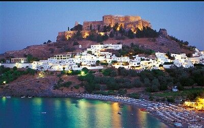 2 Adults Thomas Cook Package Holiday Lindos Rhodes 5th September 2017 SC