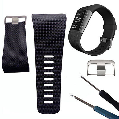 Replacement Band Strap Buckle Tool for Fitbit Surge Tracker Wristband Flowery