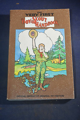 *FIRST PRINTING* The Very First Boy Scout Handbook 'Official Reprint'