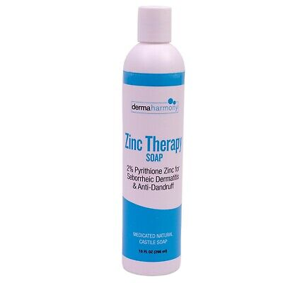 Liquid 2% Pyrithione Zinc Soap by DermaHarmony (12 fl oz)