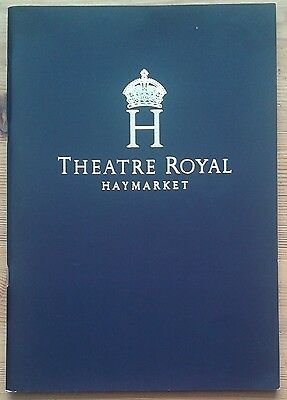 The Last Confession programme Theatre Royal Haymarket 2007 David Suchet