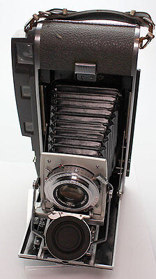 Polaroid Land Camera 110A with 120  Roll Film Conversion -127mm f4.7 Rodenstock
