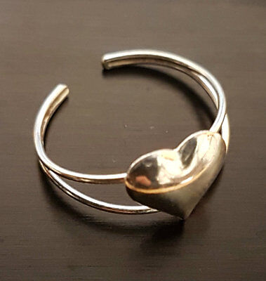 Solid Sterling Silver 925 Adjustable Band Toe Open Ring Finger Foot Jewellery
