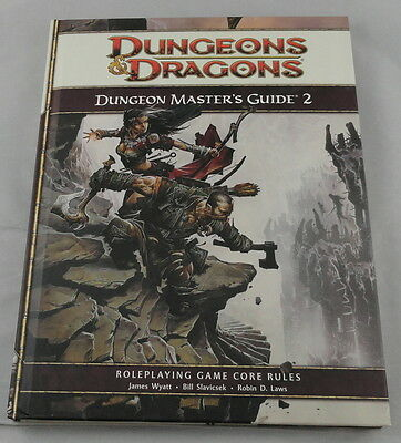Dungeons and Dragons 4th Edition Dungeon Master's Guide 2 WTC24206 *NEW*