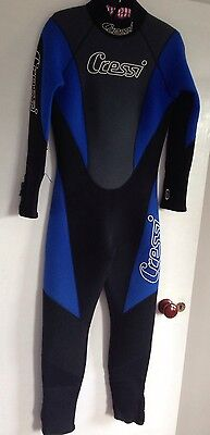 Cressi  Lontra wetsuit womens 5mm Size 3/S