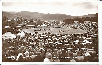 Original vtg RPpc The Braemar Gathering c1920s