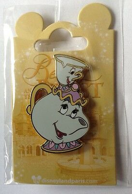 Pins Disney Belle Et La Bête Mme Samovar Zip Mrs Potts Chip