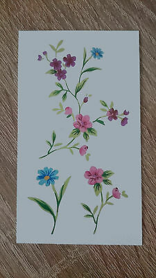 10x6cm Sheet-High-Quality-Fake-Tatto-Party-Sexy-Flower-Waterproof-Temporary