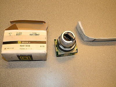 Square D Selector Switch 9001-KS11BH7 New in Box