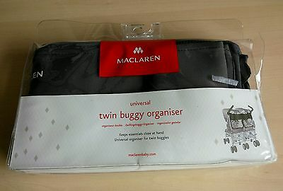 Maclaren Universal Twin Baby Buggy Buggies Pushchair Organiser Carry Bag Pouch