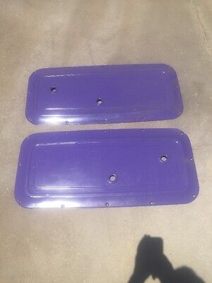 1964 1965 1966 Chevrolet Truck Interior Metal Door Panel  Pair C-10 C10