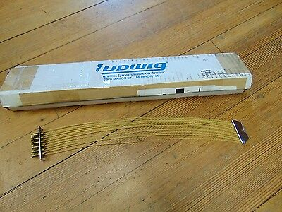 "Ludwig L1108 14"" 12 strand Synthetic Gut Snare Wires for P87, New WW Ship"