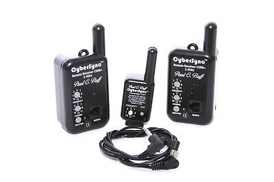 Paul C Buff Cybersync CSRB+ Transmitter/Receiver set **4908**
